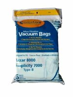 18 Riccar 8000 & Simplicity 7000 Type B Vaccum Bags, Upright, Commercial Vacuum on sale