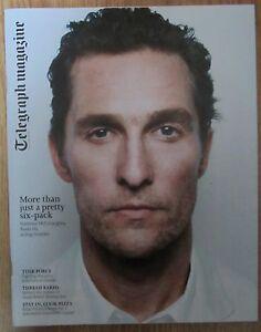 Matthew McConaughey  Telegraph Magazine  1 February 2014 - Northolt, Middlesex, United Kingdom - Matthew McConaughey  Telegraph Magazine  1 February 2014 - Northolt, Middlesex, United Kingdom
