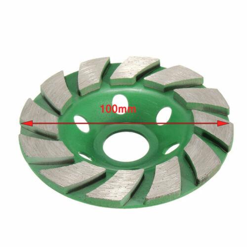Stone Concrete-Masonry Electric Angle Grinder Tool Diamond Grinding-Wheel Disc