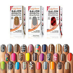 Details About Sally Hansen Salon Effect Real Nail Polish Strips Buy 2 Get Free Shipping