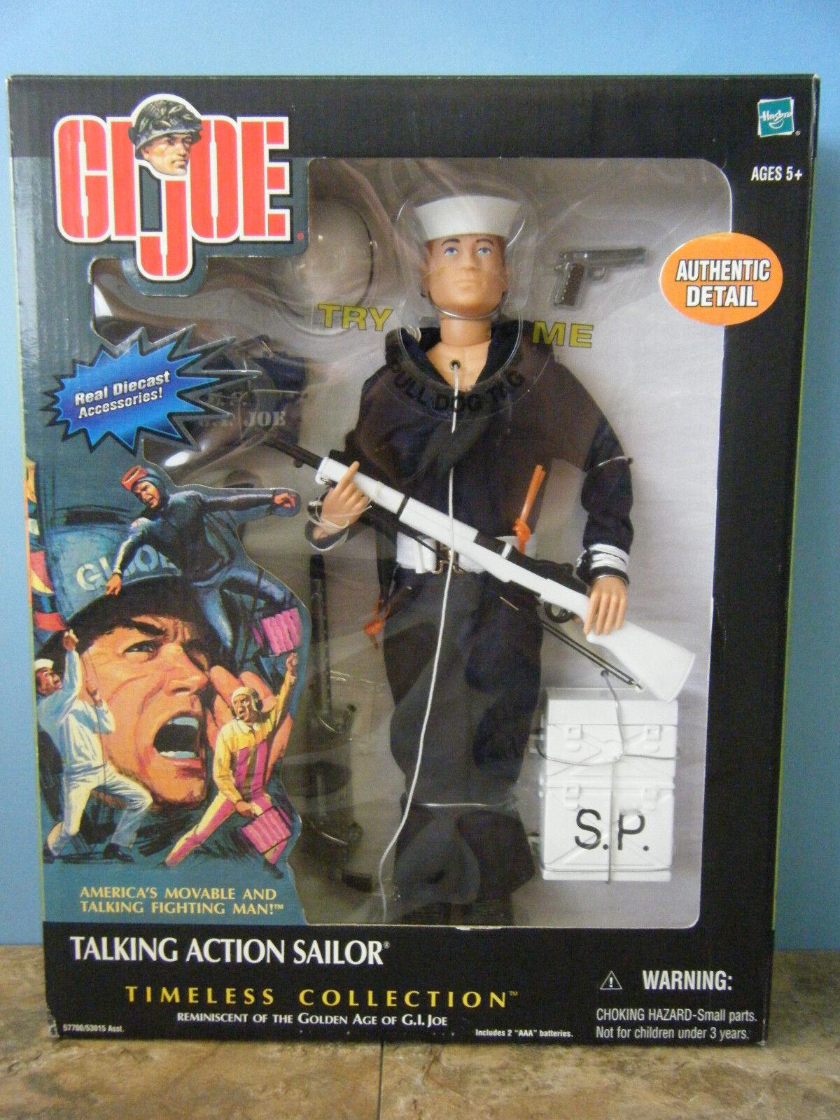 Gi Joe hablando acción Sailor Figura De 12 Pulgadas  nuevo
