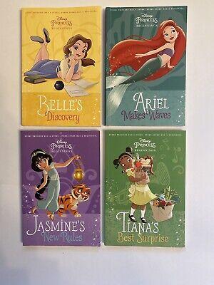 Disney Princess Beginnings Volumes 2-5, Children's Book ...
