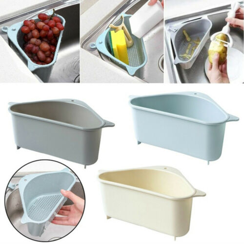 Triangle Sponge Storage Holder Racks Sink Shelf Kitchen Drain Rack Strainer