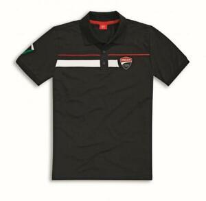 Ducati Corse Speed Hommes Polo Shirt Noir-afficher le titre d`origine r6iZ8hcT-07140002-485978215