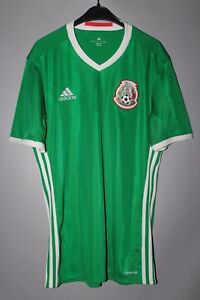 43d212b746b27 MEXICO NATIONAL TEAM 2016 2017 FOOTBALL SHIRT JERSEY CAMISETA ADIDAS ...