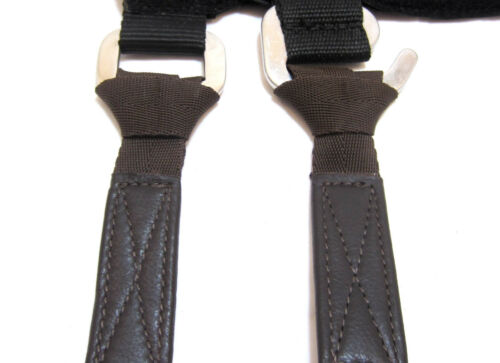 Mono Stirrup Straps with Buckle Loose Extra Thin Mount