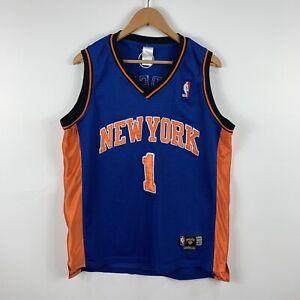New-York-Knicks-Mens-Basketball-Jersey-Size-48-Large-1-Stoudemire-Vintage