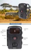 Trail Camera Ir 8mp Infrared Game Camera Led Photo Video 720p Wildlife Strap