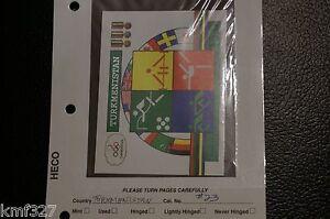 TURKMENISTAN-23-MNH-S-S-92-SUMMER-OLYMPICS-BARCELONA-SCV-11-00