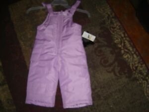 Nwt Baby Girls Snow Coverall Size 12 Months Outerwear