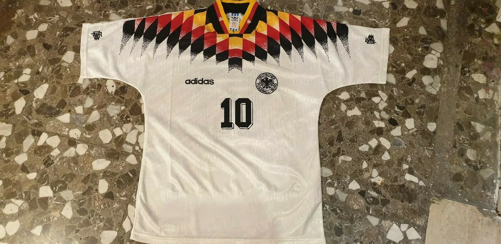 Maglia shirt Geruomoia Deutschle Adidas 1994  10 Matthaus
