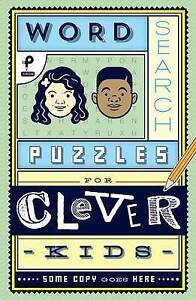 Word-Search-Puzzles-for-Clever-Kids-by-Danna-Mark-Paperback-book-2017