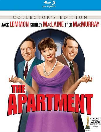 The Apartment - 1960 - Blu-ray - Jack Lemmon, Shirley MacLaine - NEW - $8.50