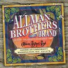 American University 12/13/70 by The Allman Brothers Band (CD, 2005, Peach (Sweden))