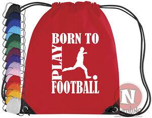Born-To-Play-Football-Kit-Sac-Cordon-Eps-Ecole-Football-Sac-a-Chaussures