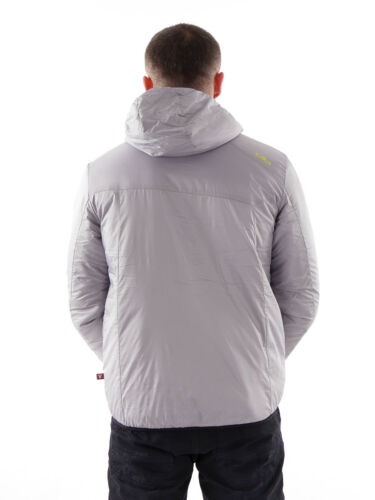 show original title Details about  /CMP Jacket Functional Jacket Transitional Hoodie Light Grey Primaloft Insulated