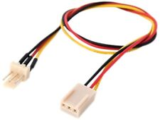 """Link Depot POW-12-EXT 12"""" Power Supply 3 Pin Fan Extension Cable"""