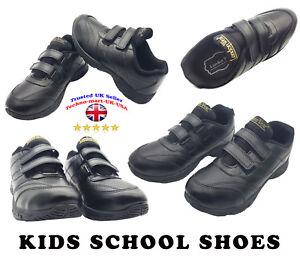 BOYS-SCHOOL-SHOES-BLACK-FLEX-LEATHER-SIZES-7-8-8-9-20-11-12-1-2-3-4-5-UK-SELLER