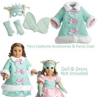 American Girl Marie Grace Duo Fancy Coat + Fairy Costume Accessories Retired