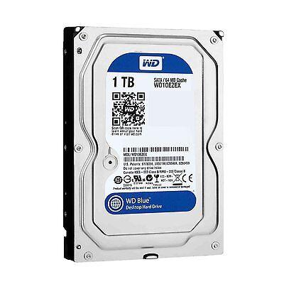 """Western Digital WD Blue 1TB 3.5"""" SATA Internal Desktop Hard Drive HDD 7200RPM"""