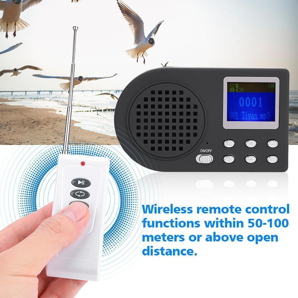 10W Hunting Decoy Speaker Bird Caller Predator Game Call Sound Caller MP3 Player