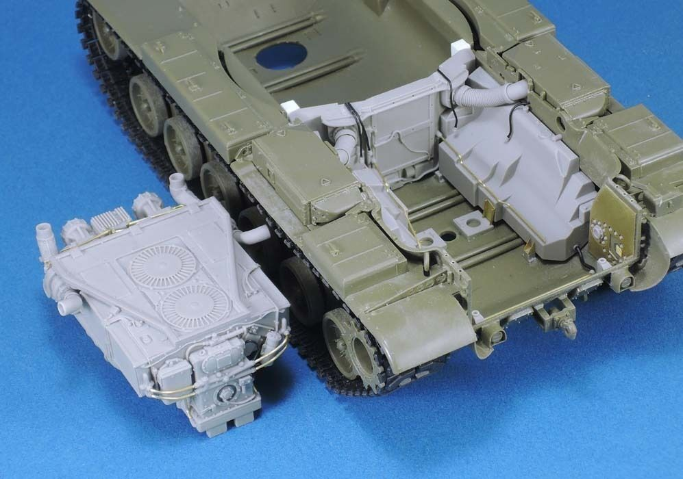 Legend 1 35 AVDS-1790 Engine & Compartment Set for AFV Club M60 Series