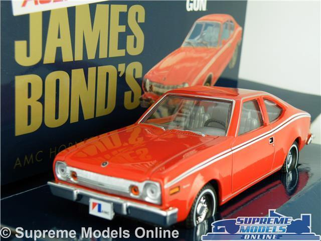 JAMES BOND AMC HORNET MODEL CAR 1 36 SCALE MAN WITH THE goldEN GUN CORGI K8