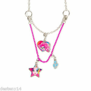My little pony equestria girls pinkie pie necklace 3 in 1 hasbro image is loading my little pony equestria girls pinkie pie necklace mozeypictures Gallery