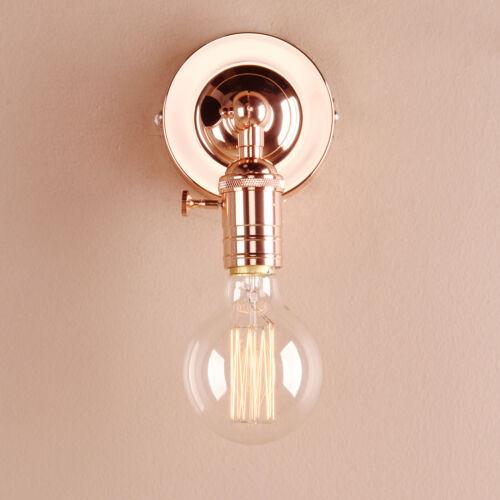 Rétro Industrial Style Fer Mansarde Café Rustique Applique Lampe Lanterne Murale