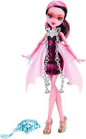 Monster High Draculaura HAUNTED - GETTING GHOSTLY Sammlerpuppe SELTEN CDC26