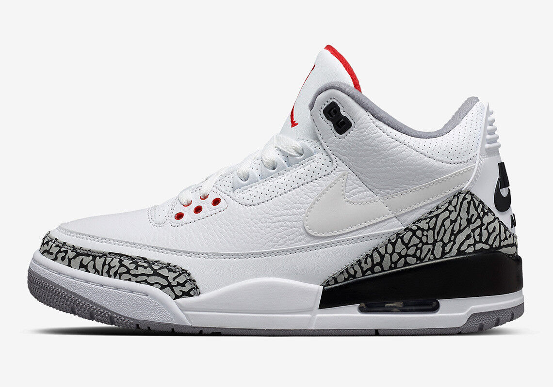 Nike Air Jordan 3 III Retro JTH Cement Superbowl Size 14. AV6693-160