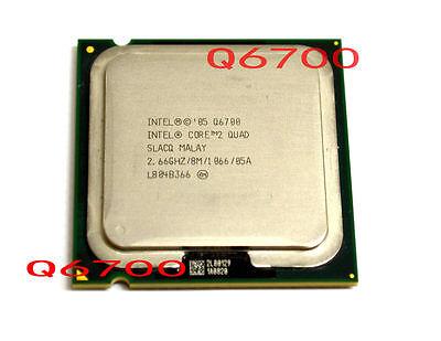 Intel Core 2 Quad Q6700 - 2,66 GHz 8MB 1066MHz 4-Kern-Prozessor Sockel 775 CPU
