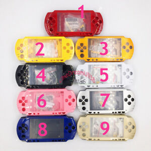 9-Colors-Housing-Shell-Case-Cover-Replacement-For-PSP1000-PSP-1000-Repair-Part