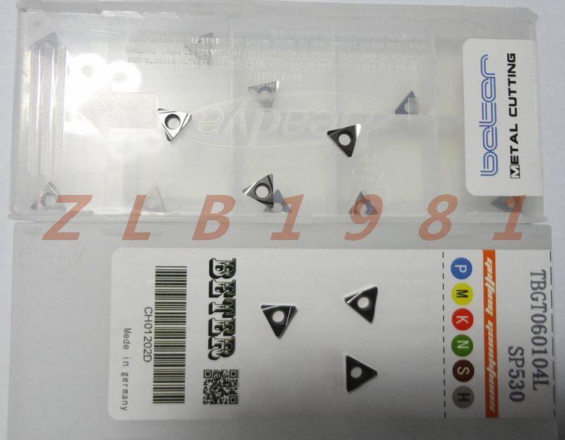 10Pcs NEW- Peter CNC blade TBGT060104L SP530