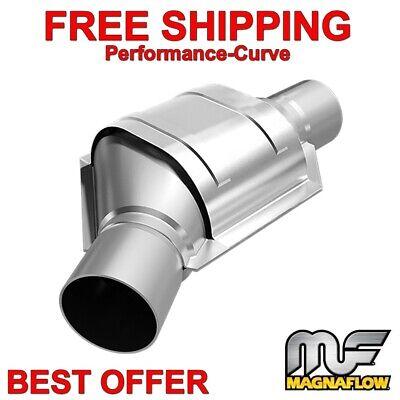 "Magnaflow 51009 High-Flow Catalytic Converter Oval 3/"" In//Out OEM GRADE OBDII"