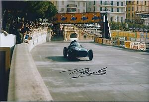 Tony-Brooks-Autograph-12x8-Photo-Champion-Driver-AFTAL-COA-SIGNED-Winner-COA