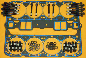 Fel-Pro-Sbc-Head-Aluminum-Gaskets-Bolts-Washers-Felpro-1206-Gasket-1003-Kit-Arp