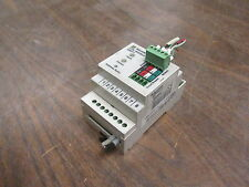 Square D CCM Modbus S48377 *Missing Terminal Cover* *Broken DIN Rail Tab* Used