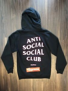 1164eb2bb ANTI SOCIAL SOCIAL CLUB X PLAYBOY HOODIE SIZE MEDIUM assc supreme | eBay