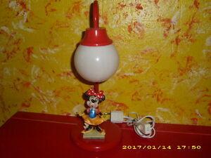 Minnie Maus Mouse Lampe - 70 Jahre - Figur Leuchte - Kinderlampe ...