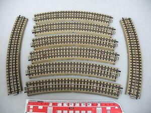 AH718-1-8x-Maerklin-H0-00-Gleisstueck-M-Gleis-f-3600-800-m-Mittelleiter