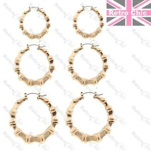 6prs Sleeper earrings different size fashion round hoops Uk seller
