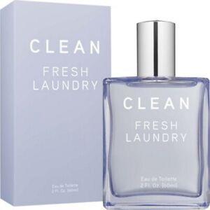 Clean-Fresh-Laundry-Eau-de-Toilette-Spray-2-0-fl-oz-Perfume-Women-Linen-NEW
