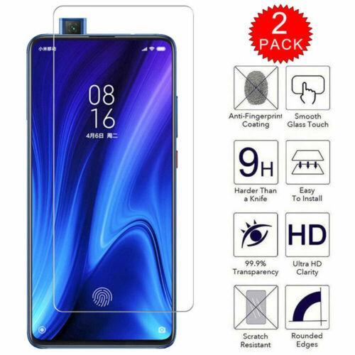 Móviles Y Telefonía 2 Pack Para Xiaomi Mi 9t 9t Pro Hd 9h Claro Protector De Pantalla De Vidrio Templado Radcomm