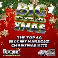 Mr Entertainer Karaoke CDG - The Big Christmas Hits - Double CD+G Discs Xmas