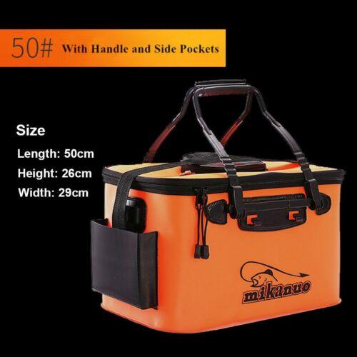 Fishing Bag Portable EVA  Collapsible Folding Bucket Fish Basin Camping Hiking
