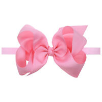 Kid Baby Girl Flower Bowknot Headband Elastic Hairband Headwear Hair Accessories