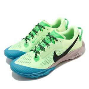 Details about Nike Air Zoom Terra Kiger 6 Barely Volt Black Green Men Trail Running CJ0219-700