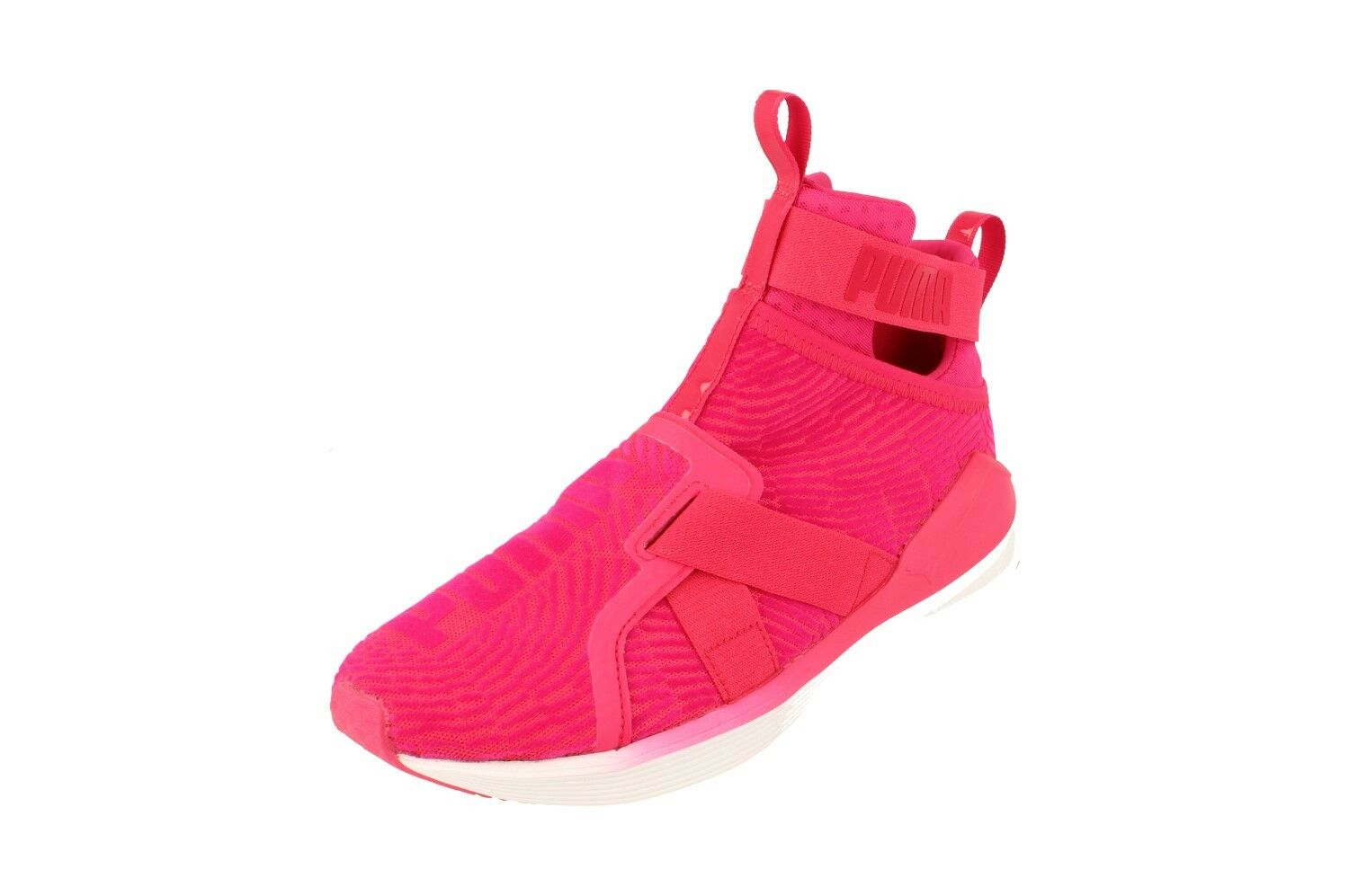 Zapatos promocionales para hombres y mujeres Puma Fierce Strap Flocking Womens Hi Top Trainers 189767 Sneakers Shoes 03