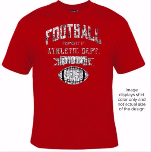 Big and Tall T-Shirt Football Athletic Dept 5XLT 6XLT 7XLT